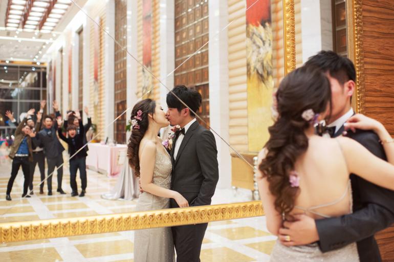 [婚攝] Matthew & JungJung | 台北 。大直典華
