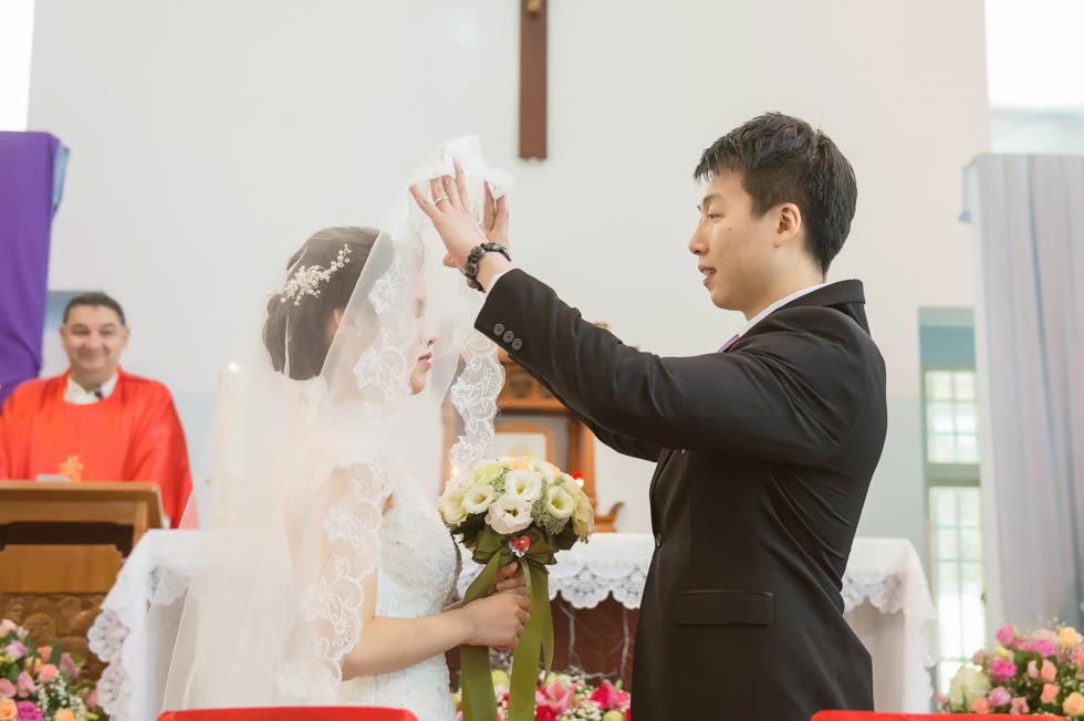 [婚攝] 伯龍&佩琳 | 台中。僑園大飯店 (教堂婚禮)
