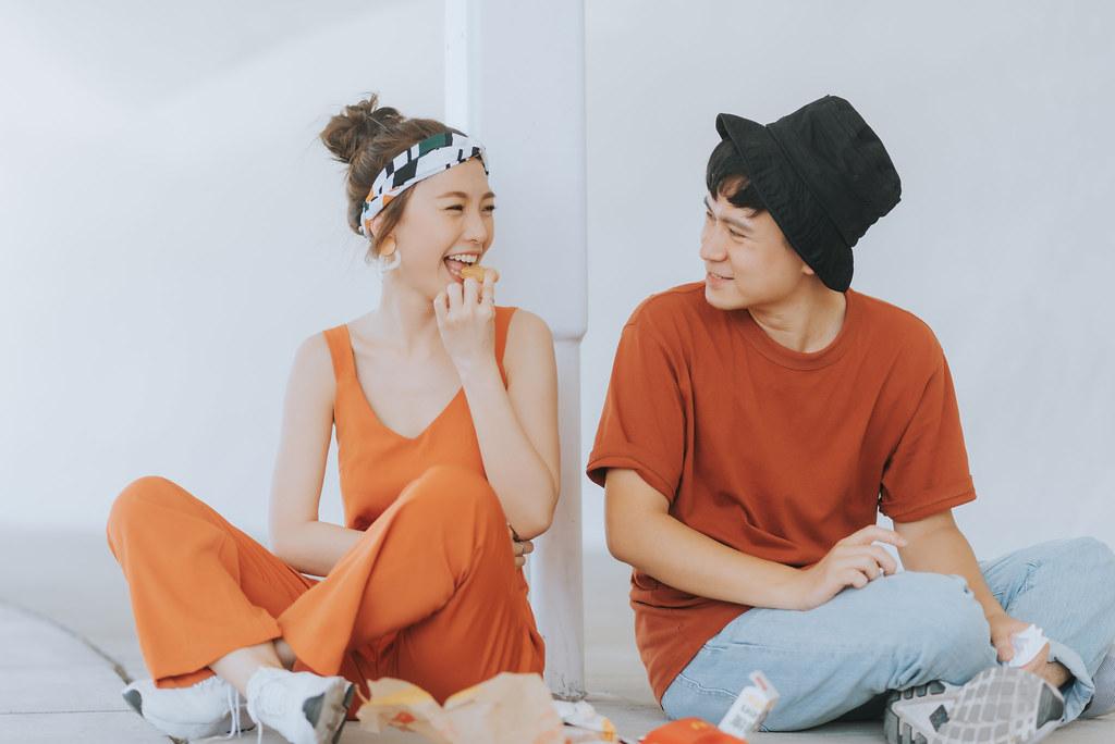 [自助婚紗] I&J | 台中。台灣